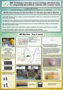 Poster for M&f Technology mixing process at the EMSF 2014
